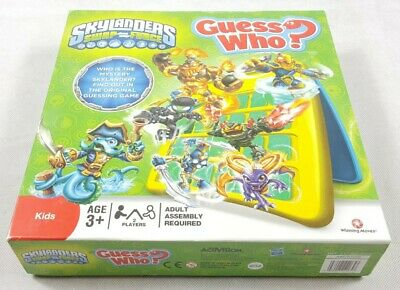 Skylanders Guess Who? 2013 Game By Hasbro 100% Complete With Instructions