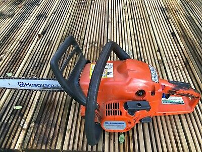 "Husqvarna 236 14"" Petrol Chainsaw. 1400W. Used, 2 spare chains and tuning tool"