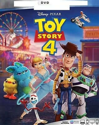 Toy Story 4 (2019) DVD ** Disc Only ** Like New **