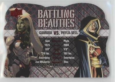 2016 Upper Deck Marvel Gems Battling Beauties Gamora Phyla Vell #BB-9 2rz