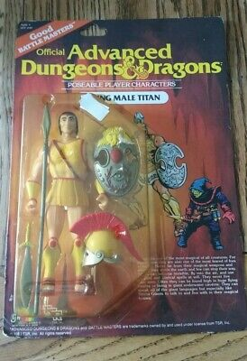 Official Advanced Dungeons & Dragons Young Male Titan