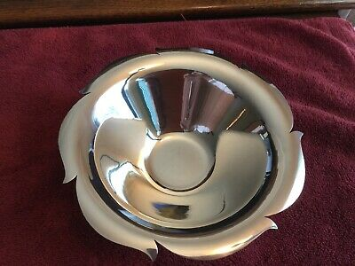 Rare Beautiful Vintage Tiffany & Co Candy Dish Solid Sterling Silver