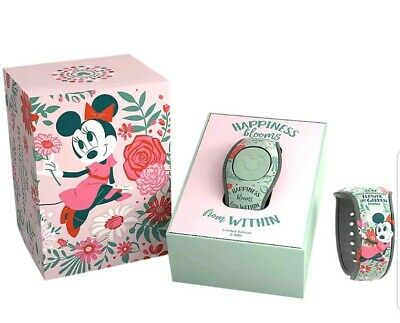 Disney Parks 2019 Epcot Flower & Garden Festival Minnie Happiness LE Magicband