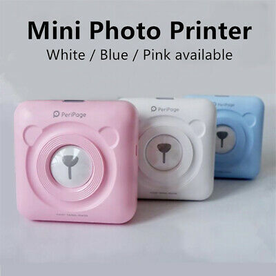 Peripage A6 Bluetooth Handheld Photo Instant Printer Smartphone Thermal Printer