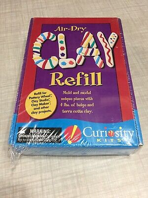 Pottery Wheel For Kids Clay - Refill for Kid's Curiosity Kits (NEW)