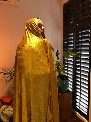 "Actual Authentic Shawl of 100% Genuine Cult Luminary ""The Golden Slug"" (Real)"