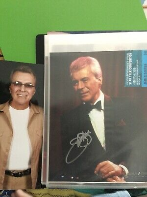 Star Trek hand signed autograph James Darren As Vic Fontaine