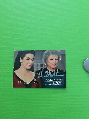 Star Trek hand signed autograph Diana Muldaur As Dr Pulaski