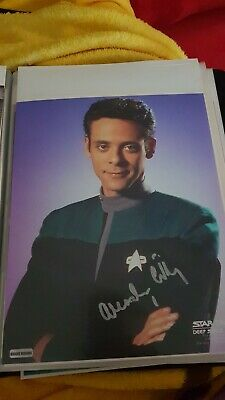 Star TRek hand signed autograph Alexander Siddig As Doctor Bashir