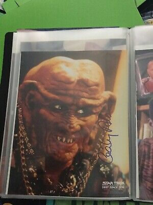 Star Trek hand signed Autograph Cecily Adams As Moogie