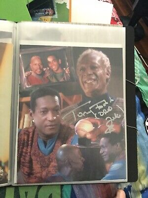 Star Trek hand signed autograph Tony Todd As Old Jake Sisko