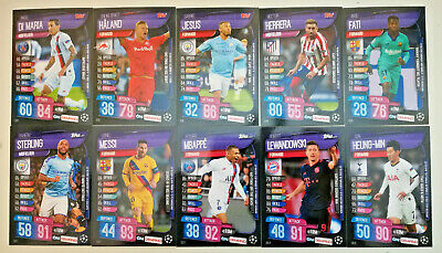 TOPPS UCL Match Attax On Demand Cards 2019/2020 19/20 BUY 3 GET 1 FREE!