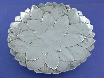 """Sterling Silver TIFFANY & CO 6"""" Floral Dish ~ no.25223"""