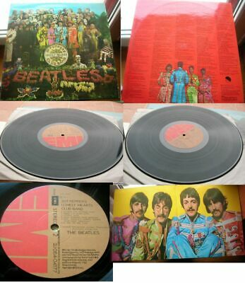 THE  BEATLES SGT Pepper's LONELY HEARTS CLUB BAND Greece G/f MINT VIMYL LP