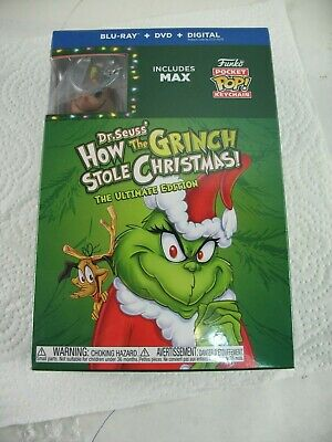 How the Grinch stole Christmas DVD with  Maxkeychain the ultimate edition new