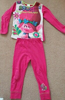 Girls Trolls Pyjamas Age 5-6