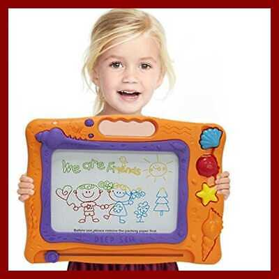 Toddler Learning Toys for Writing FunLittleToy 2 Pack Magnetic Doodle Drawing Board Travel Toys for Kids Gift Sketching