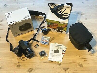 Panasonic LUMIX DC-FZ82EB-K 18MP Bridge Camera and Accessories bundle