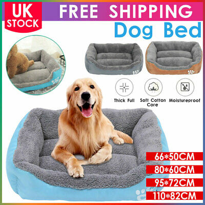 Pet Dog Cat Bed Puppy Cushion House Soft Warm Kennel Kitten Mat Blanket Washable