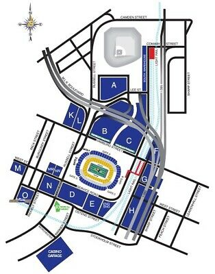 Ravens Lot H Parking Pass. Dec 12. Ravens Vs Jets