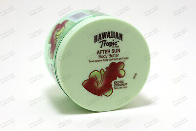 Luxury Hawaiian Tropic Coconut Body Butter After Sun 200ml - Fast Free Shipping