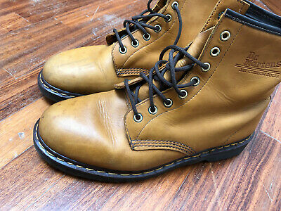 Stivali/anfibi in pelle Dr. Martens, made in England - eur 45 - uk 10