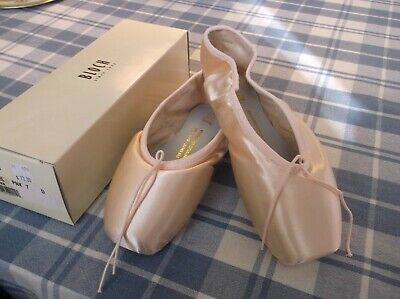 Bloch Suprima Pointe Shoe Womens Sizes 8 to 9 Style SO132L Euro Pink