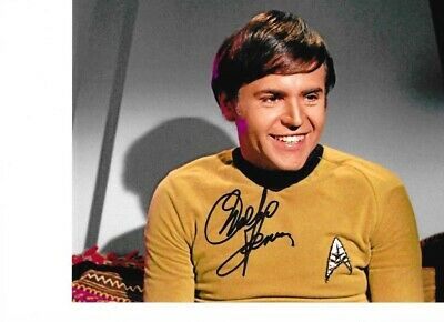 Star Trek Autograph Hand Signed Walter Koenig As Chekov