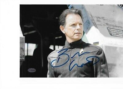Star Trek Autograph Hand Signed Bruce Greenwood As Captain Pike
