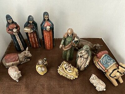 Southern Living At Home Nativity Set Holy Family Wisemen 12 Pc