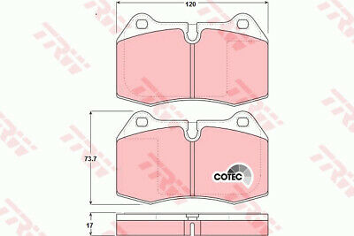 For BMW 7 Series E38 740i,iL Braymann Rear Hand Brake Shoe Accessory Fitting Kit