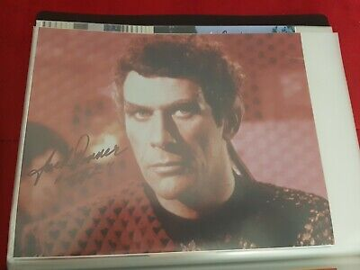 Star Trek Autograph Hand Signed Jack Donner As Romulan Sub Commander.