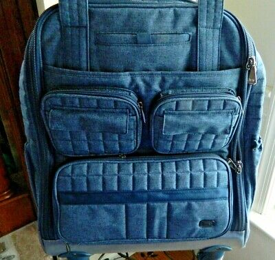 LUG Quilted Puddle Jumper Wheelie In BLUE New