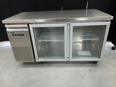 Under Bench Fridge Glass Door 1.5M