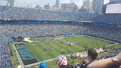 (2) Carolina Panthers vs New Orleans Saints Tickets December 29th