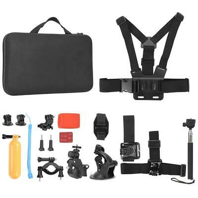 Universal Action Camera Accessories Set Kit for Gopro Cycling Climbing Diving