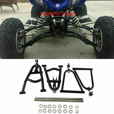 Sport Extended A-Arms + 2'' Wide Adjustable For Yamaha YFM660R Raptor 660R 01-05
