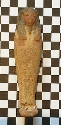 Ushabti Shabti Beautiful New Kingdom Ancient Egypt Egyptian 100% Authentic,  Coa