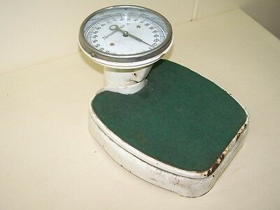 Beautiful Old Bathroom Scale, Physician Scale Antique, Alexanderwerk to 125 kg