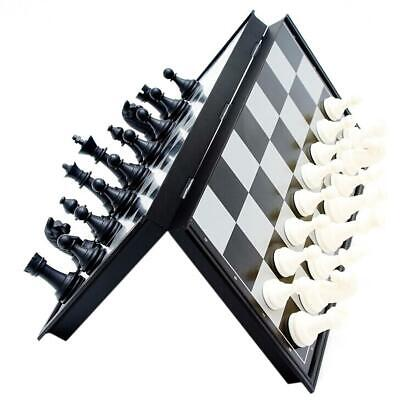 Children Outdoor Magnetic Folding Chess Set Portable Travel Board Games UK