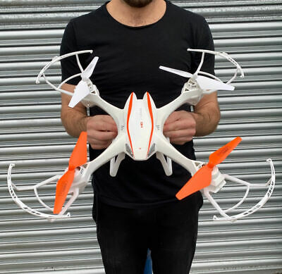 BEST DRONE WITH CAMERA - 2.4G 6-AXIS RC LARGE Quadcopter HD Camera Easy To Fly!
