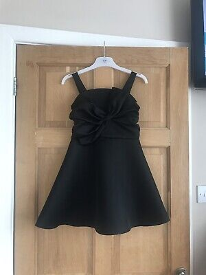 Girls Black Party Dress River Island Age 8