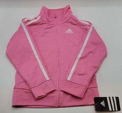 Adidas Girls' 2-Peice Set Tracksuit Size 4 Years New With Tags