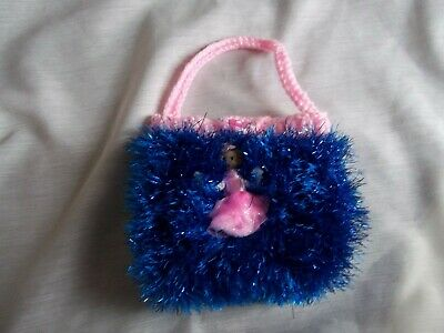 Child's Hand Knitted Small Bag - Good Stocking Filler