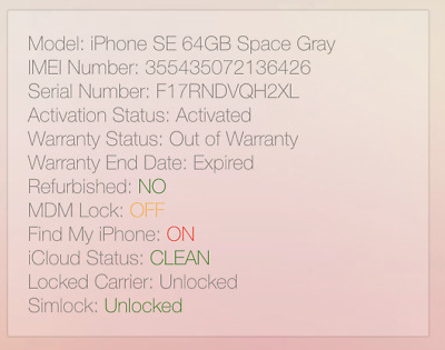 Apple iPhone SE 64GB - Space Gray A1662 (CDMA + GSM) icl0ud l0cked #6