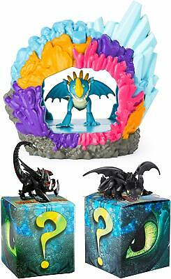 DreamWorks Dragons Stormfly Hidden World Playset with Mystery Dragon 2-Pack