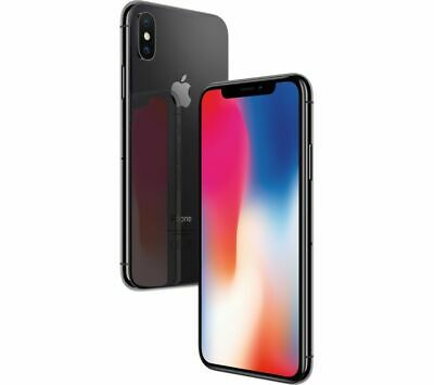 Apple iPhone X 64GB Space Gray Factory GSM Unlocked (AT&T / T-Mobile) Smartphone