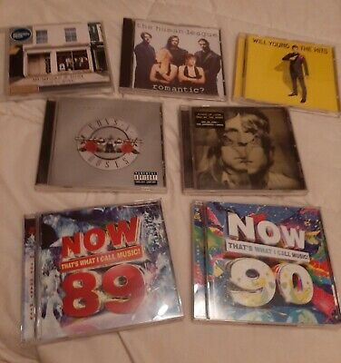 *Job Lot* Male Singers/Bands/Now Cd Albums