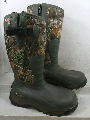Rocky Mens Sport Pro Rubber Olive Insulated WTP Boots Shoes RKS0382 size 12 M
