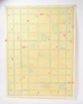 1979 Robert Natkin Abstract Expressionist L/E Lithograph Stripes Sgnd 11